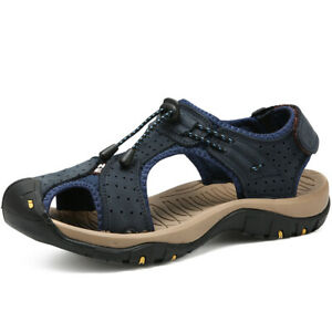 Men/'s Outdoor Hiking Trail Shoes Sport Beach Sandals Closed Toe Flip Flop Sandal