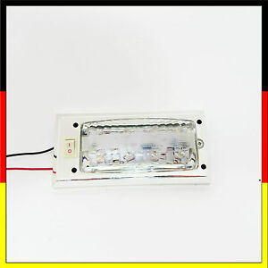 8 led 12v panel auto innenraum beleuchtung lampe taxi transporter camping wei ebay. Black Bedroom Furniture Sets. Home Design Ideas