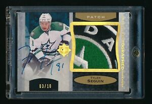 2013-14-Ultimate-Collection-Patches-Autographs-UATTS-Tyler-Seguin-3-10