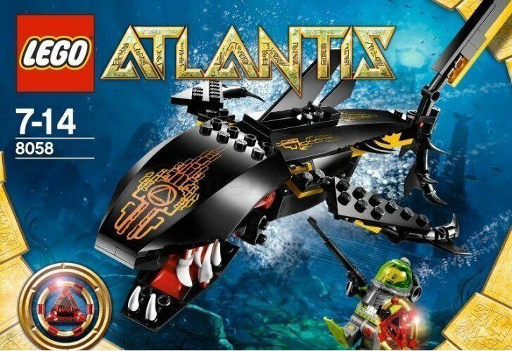 LEGO Atlantis 8058 - Guardian of the Deep - NEUF NEW, SCELLÉE SEALED