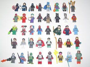 Lego-Minifigure-Figurine-Marvel-DC-Comics-Super-Heroes-Choose-Minifig-NEW