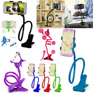 d460656c2a42 LONG ARM MOUNT LAZY Holder Stand For Mobile Cell Phone iPhone Bed ...