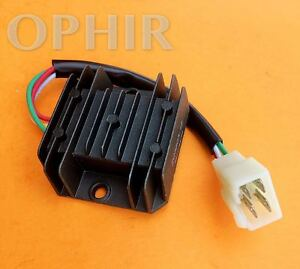 details about voltage regulator rectifier 4 wire for honda 125 150 200 250cc motorcycle atv Honda Rebel Wiring Diagram