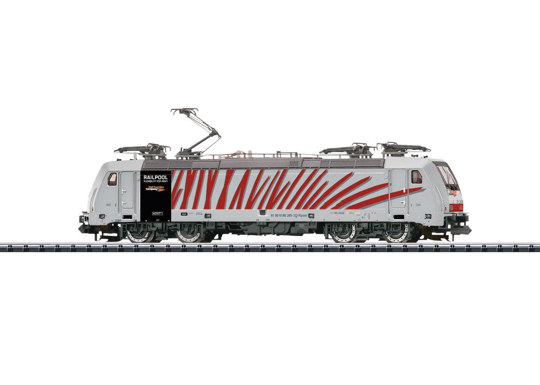 Trix 16874 E-Lok BR 186 RAILPOOL digitale DCC SOUND funzionalità  neu in OVP