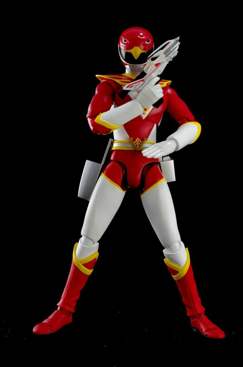 Japan Rare   Bandai S.H.Figuarts Power Rangers Chojin Sentai JETMAN ROT HAWK