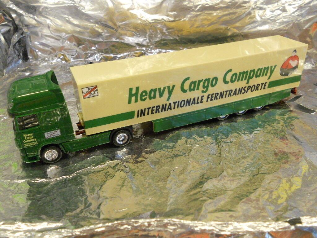 Herpa 193337 DAF XF HCC LKW 2011 Heavy Cargo Company 1 87 HO Scale
