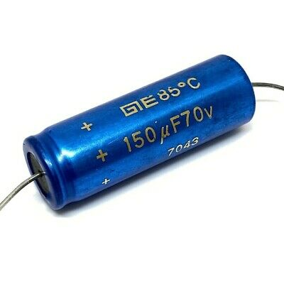 150UF 70V ELECTROLYTIC CAPACITOR GE 40X15MM
