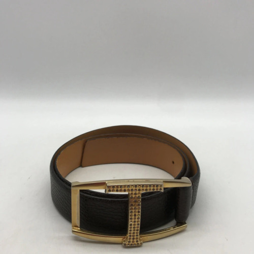 Tods Brown Leather Belt 80