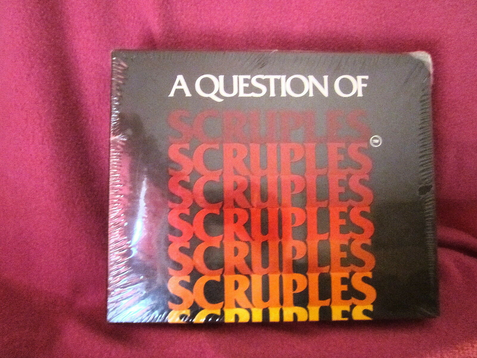 A Question Of Scruples Game 1984 Sealed