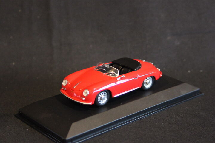 Minichamps Porsche 356 A Speedster 1956 1 43 rouge (HB)