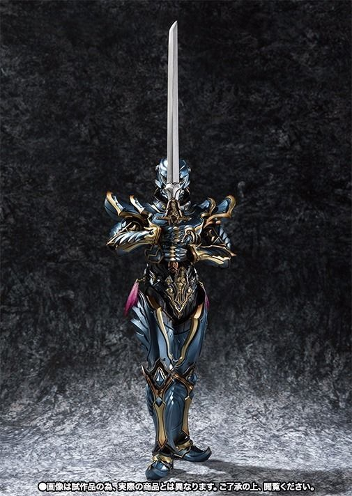 Makai Kadou Garo SHADOW KNIGHT KNIGHT KNIGHT CROW Action Figure BANDAI TAMASHII NATIONS Japan 69c282