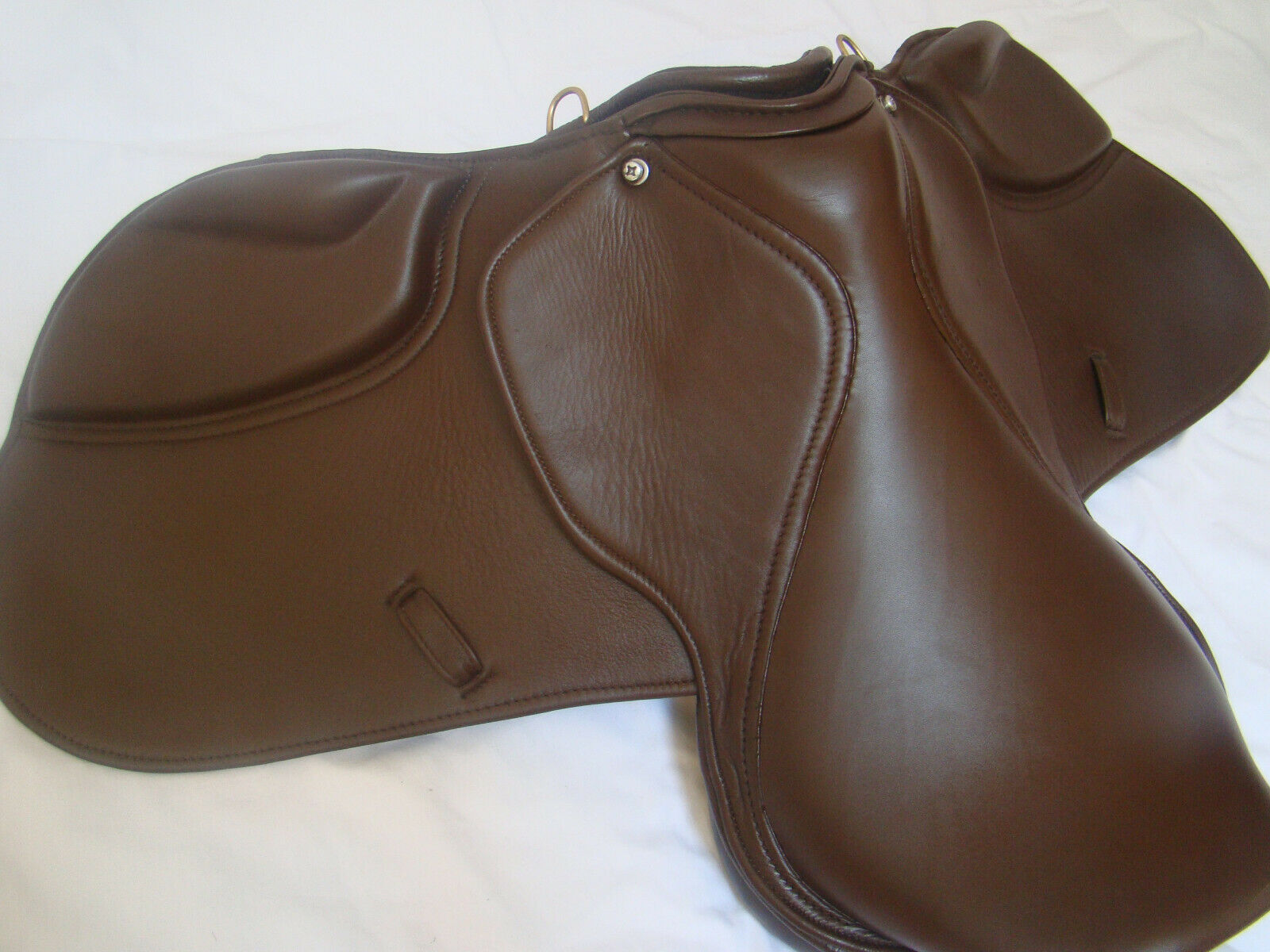 English Saddle 17.5 Real Leather all purpose horse saddle