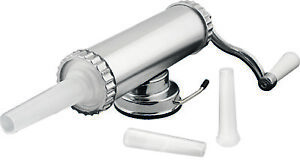 New-AVANTI-Homemade-Aluminum-Sausage-Maker-1Kg-with-3-Filling-Nozzles-RRP-67
