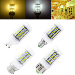 E27-E14-B22-G9-GU10-LED-Mais-Ampoule-5730-SMD-Chaud-Blanc-Froid-360-Lamp-220V