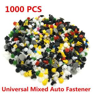 1000-x-Car-Door-Trim-Panel-Clip-Fastener-Bumper-Rivet-Retainer-Push-Engine-Cover