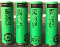 Brand 4 Sony Us14500vr2 14500 (aa) 3.7v 680mah Li-ion Rechargeable Battery