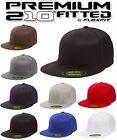 Yupoong Premium Flexfit 6210 Premium 210 Fitted Hat Plain Blank Cap hat