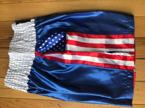 Blue US//Mexico Flag Boxing Martial Art Grappling Shorts Fitness MMA Training