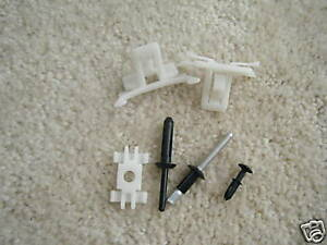 NIP 84-88 FIERO DOOR LOWER AERO MOLDING CLIP KIT