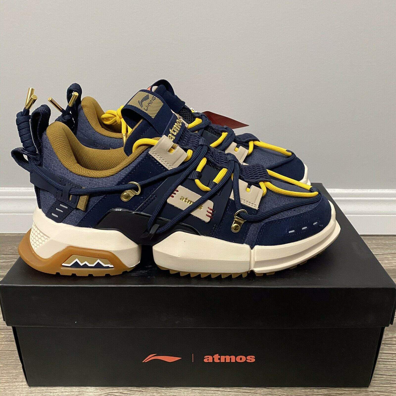 Li-Ning x Atmos Titan US10 DS Japan exclusive Lining Sneaker Shoes