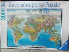 Map Of The World From 1650 2000 Piece Ravensburger Jigsaw Puzzle