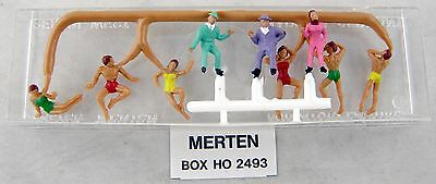 Merten 2493 Rubber Dhinghy Occupant Figures for sale online