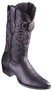 321adaa4de7ee Men s Los Altos Genuine Goat Leather Boots Round Toe Handmade ...