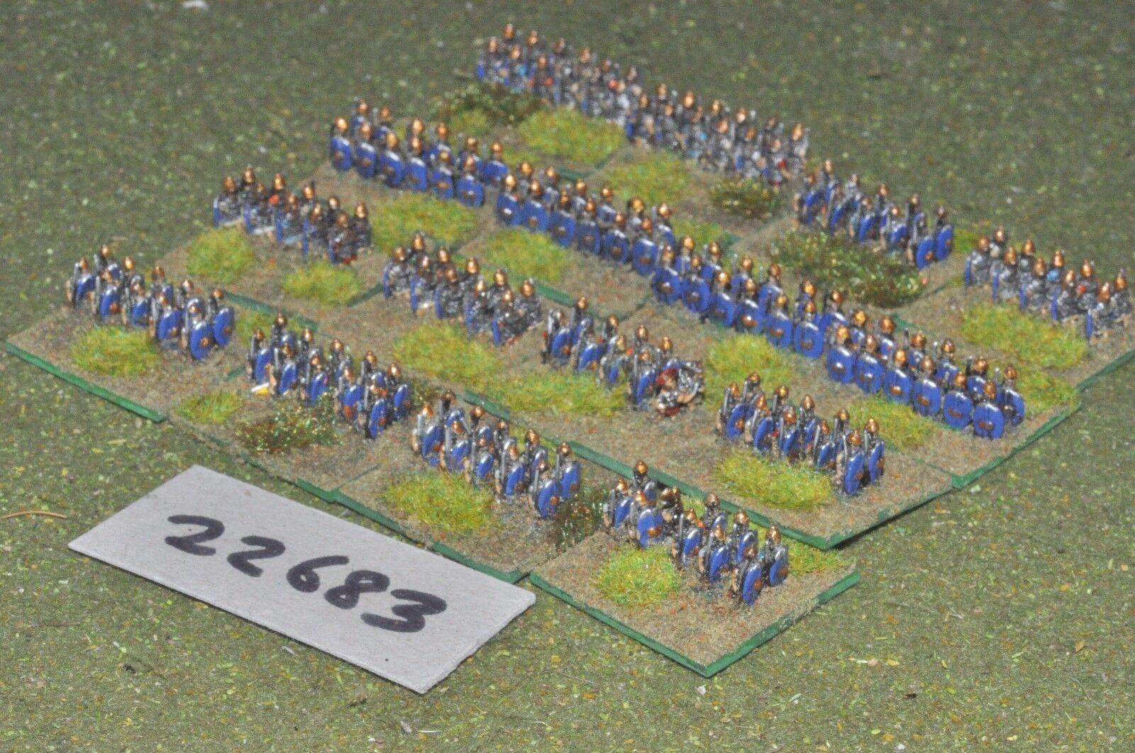 6mm Roman Era   roman - early legionaries 190 figures - inf (22683)