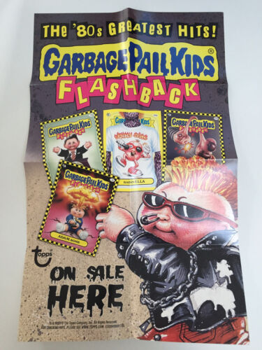 0-491-0-7 1987 UK Garbage Pail Kids 4th Series PACK