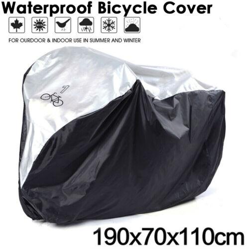 Waterproof Bicycle Mountain Bike Cover Outdoor Rain Sun Protector Bag For 1 Bike