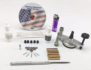 windshield repair kit auto glass repair system rock chip kit essentials ebay. Black Bedroom Furniture Sets. Home Design Ideas