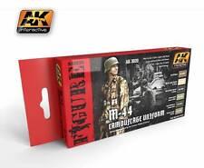 Ak Interactive AKI 3020 AKI Figure Series M44 Camouflage Uniform Paint Set