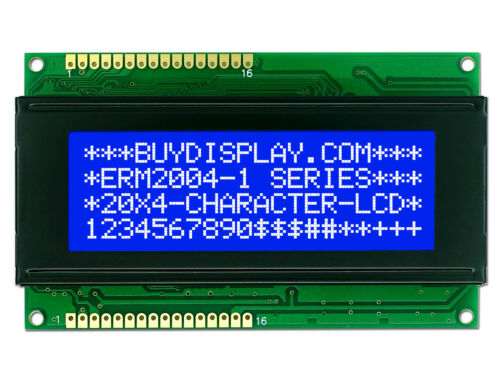 5V Blue 20x4 Character LCD Module Display w//Tutorial,HD44780,White Backlight