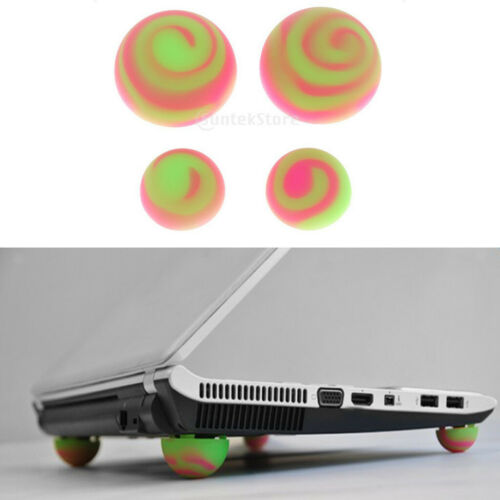 Antiskid Silicone Cooling Stand Cooler Ball for Laptop PC Green