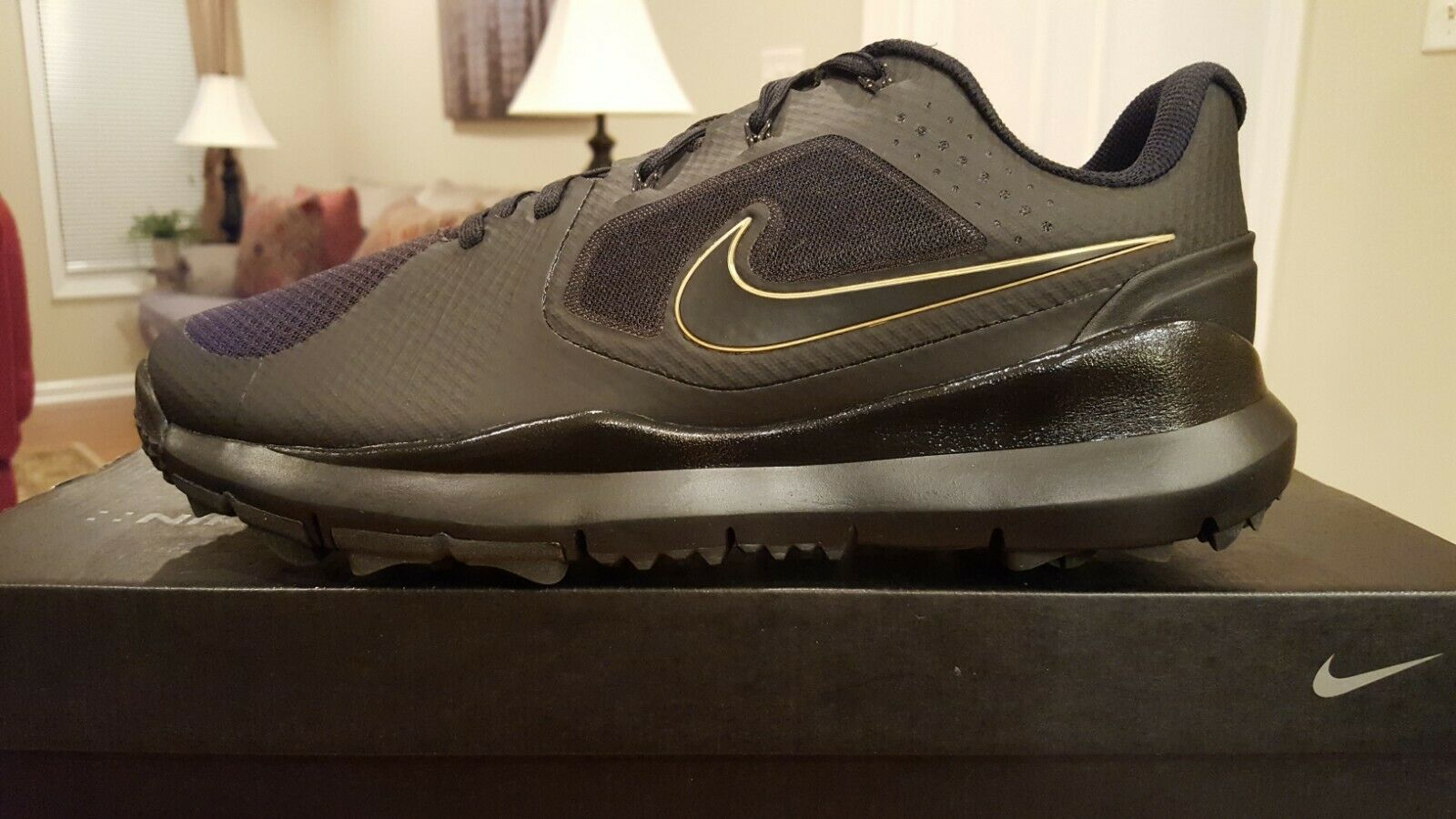 Nike TW 14 Mesh Golf Shoes 9 Tiger