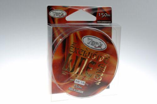 Angelschnur YORK EXCLUSIVE 0,12mm-0,60mm Spule Monofil Schnur NEU/&OVP