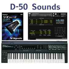 Roland D-50, D-550, VC-1 For VariOS & V-Synth - Largest Sound Collection