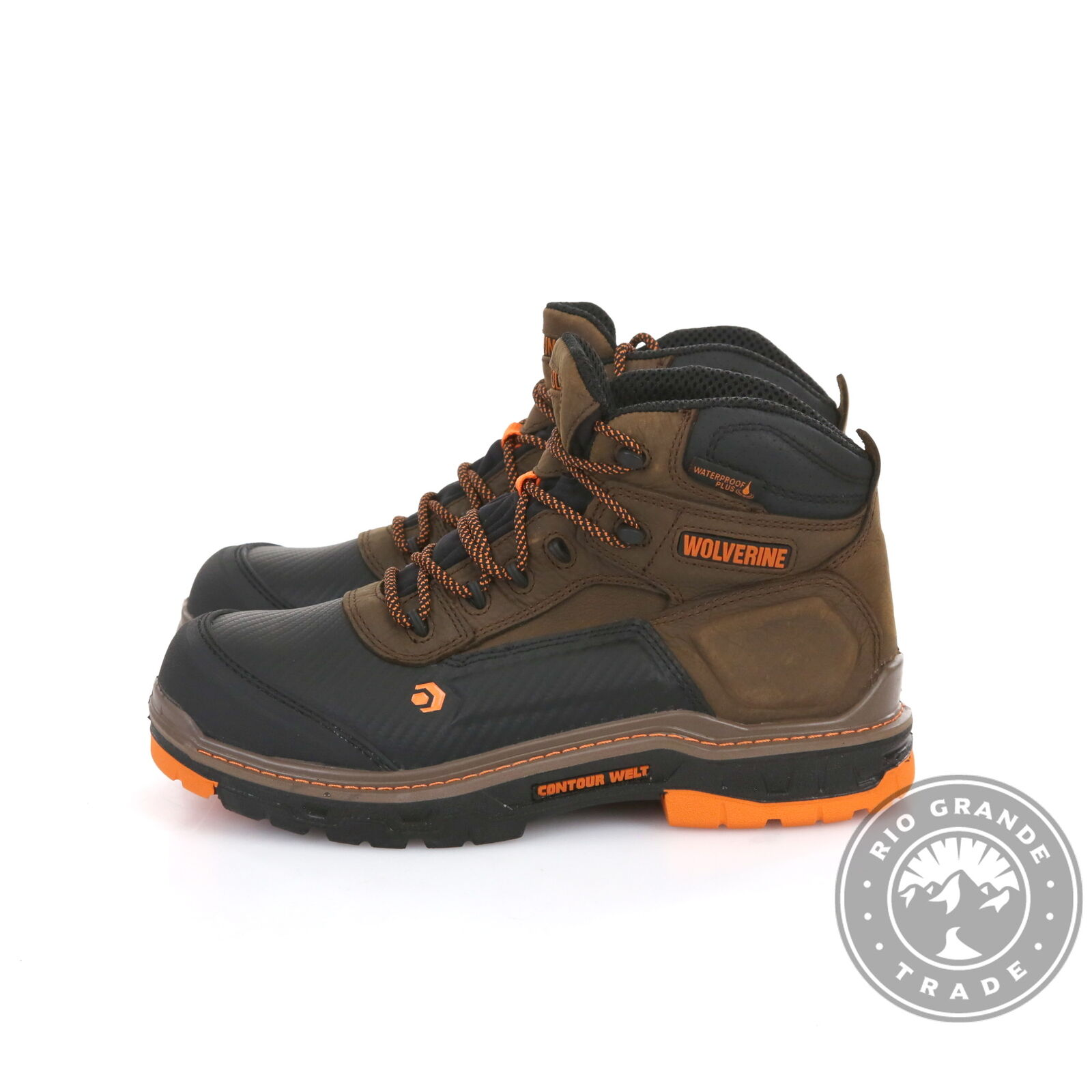 """NEW WOLVERINE Men's Overpass 6"""" Insulated Work Boots in Summer Brown - 11"""