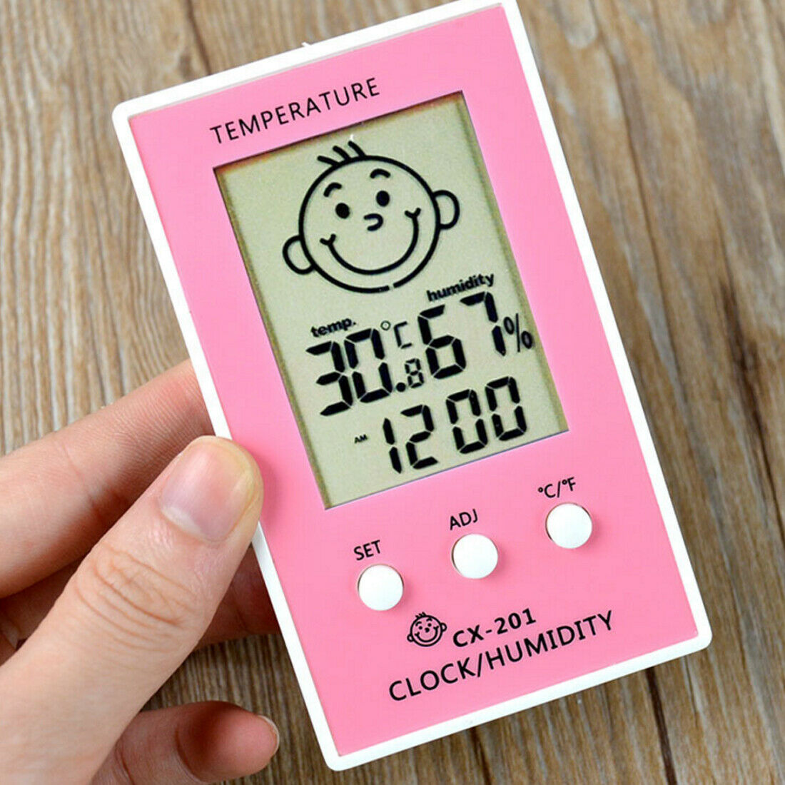 Hot 1pc Indoor Outdoor Thermometer Higrometre Thermometre Meter Humidity Logger