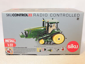 Siku-control-32-John-Deere-8430t-oruga-tractores-oruga-como-nuevo-6762-6761