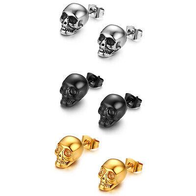 Punk Halloween Style Screw Earring Goth