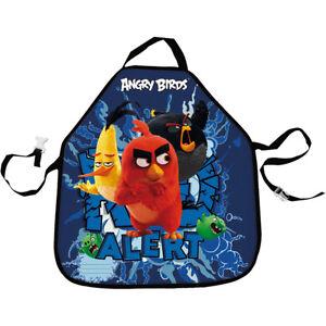 Angry-Birds-MOVIE-Artist-039-s-Apron-Child-Art-Craft