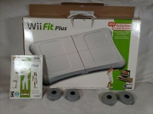 Nintendo Wii Bundle Balance Board With Wii Fit Plus Game Open Box