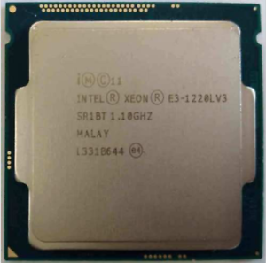 Intel XEON E3-1220LV3 1.10GHz Dual-Core 4MB Smart Cache Tested