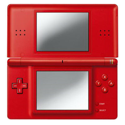Nintendo DS Lite Red Handheld System Very Good Condition