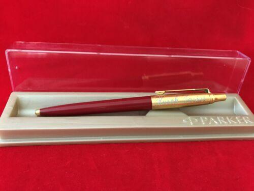 PARKER Kugelschreiber JOTTER rot 24 Karat Vergoldet mit ihre Wunschgravur Edel