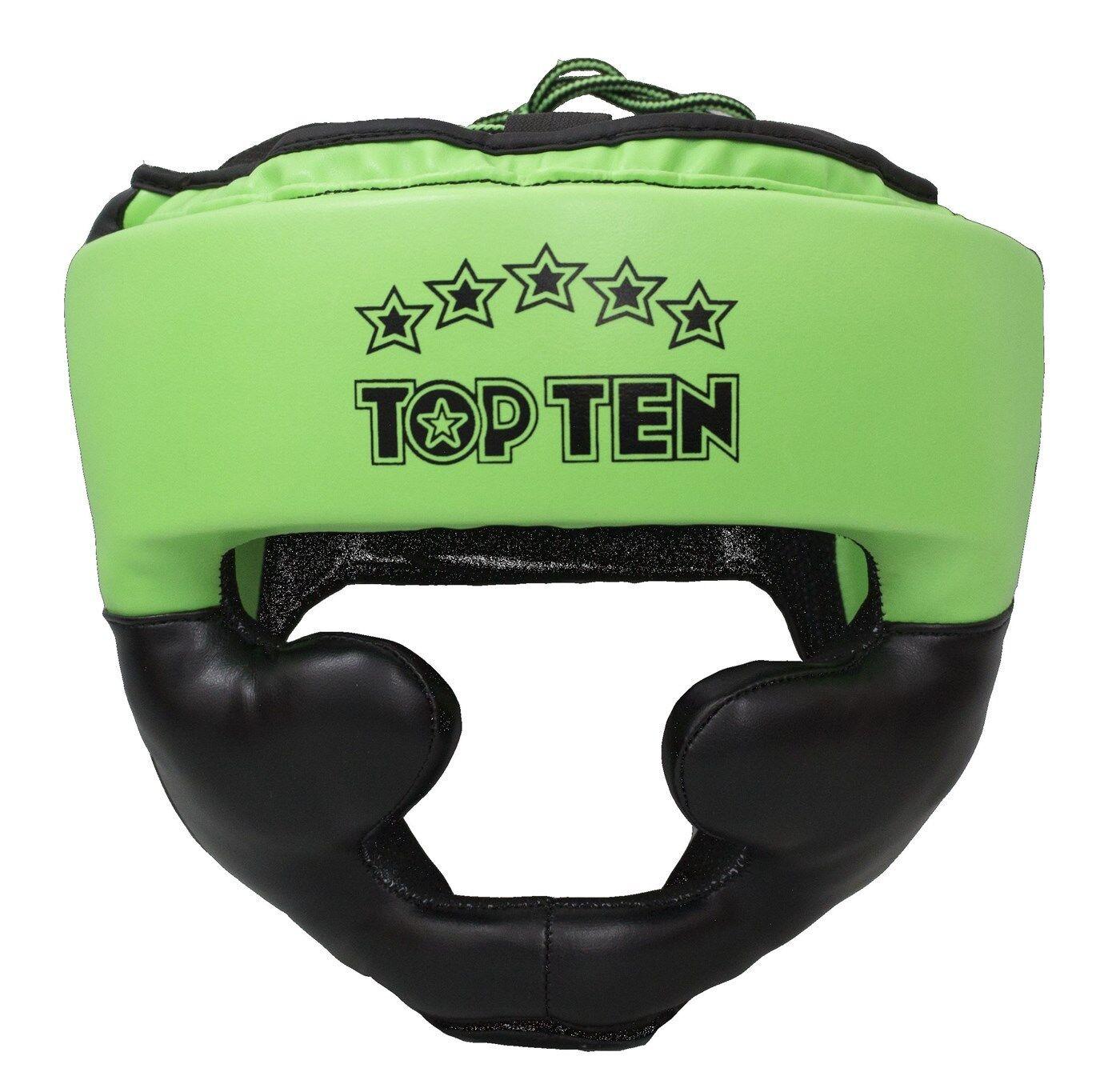 Kopfschutz TOP TEN  Eco R2M Line    NEON ver. Größen und Farben Boxen Muay Thai 612145