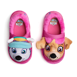 fd18e6c84a96 Paw Patrol Slippers Baby Toddler Size 5 6 Skye Everest Small