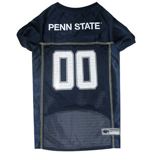Penn-St-Nittany-Lions-NCAA-Pets-First-Licensed-Dog-Pet-Mesh-Jersey-XS-2XL-NWT