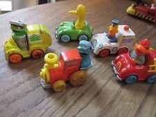 5 Older Sesame Street Muppets Cars Oscar Cookie Monster Bert Ernie Big Bird